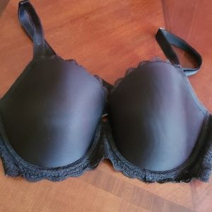 Victoria's secret black dream angels bra